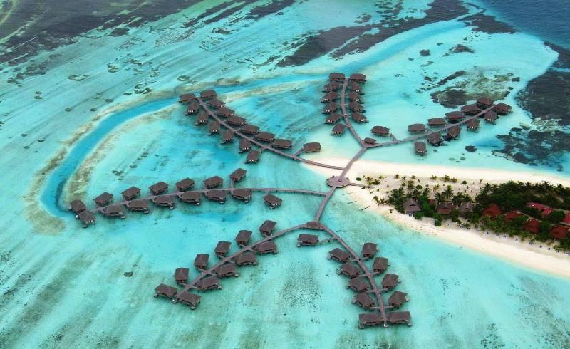 Острова настолько малы, что их не отражают на картах мира