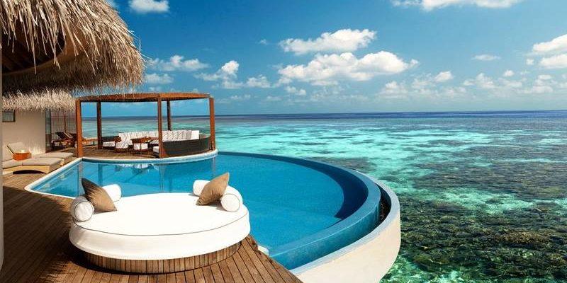 разглядеть все острова можно только на карте Мальдив