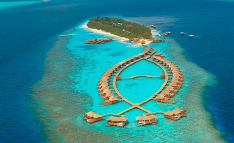 все отели строили только на отдельных островах